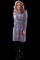 Платье с резинкой
