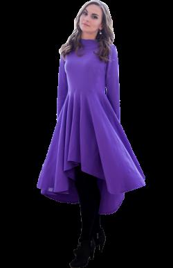 Платье с асимметрией