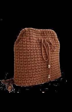 Рюкзак шоколадного цвета