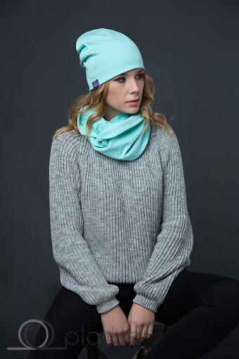 Купить мятную шапку