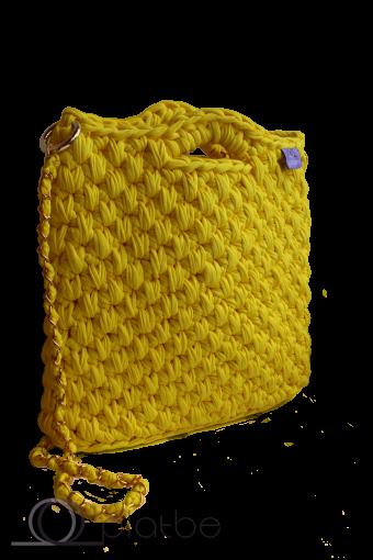 Сумка лимонная